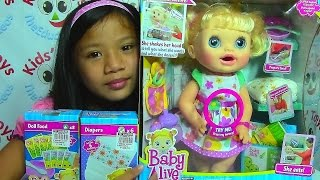 getlinkyoutube.com-Baby Alive Doll Real Surprises Baby - Baby Doll Collection
