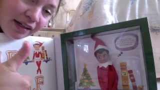 getlinkyoutube.com-unboxing OF MY ELF ON THE SHELF FROM THE NORTH POLE FROM SANTA!