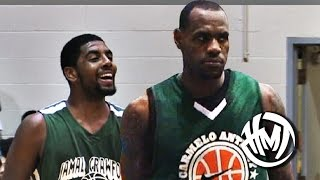 getlinkyoutube.com-LeBron James RETURNS To Cleveland To Team Up With Kyrie Irving!