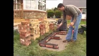 getlinkyoutube.com-How To Build A Brick BBQ