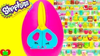 getlinkyoutube.com-Shopkins Season 3 Snippy Play Doh Surprise Egg and Limited Edition Hunt
