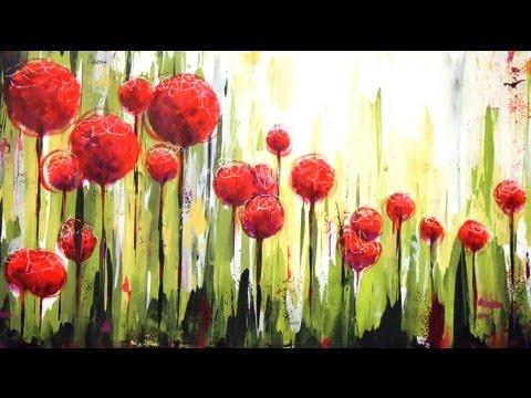 Como pintar con acrílicos - Cuadro