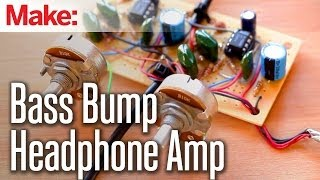 getlinkyoutube.com-Weekend Projects - Bass Bump Headphone Amp