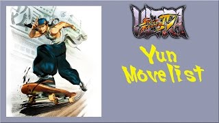 getlinkyoutube.com-Ultra Street Fighter IV - Yun Move List