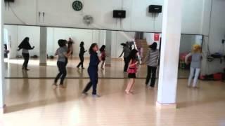 getlinkyoutube.com-Lancang Kuning Line Dance Versi Latihan