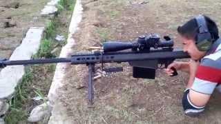 getlinkyoutube.com-Menembak Sniper - Barrett M82A1 By PROsignal Indonesia
