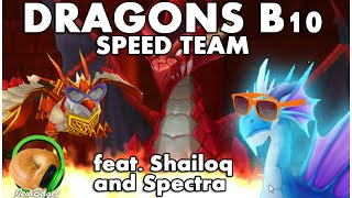 getlinkyoutube.com-SUMMONERS WAR : DRAGONS B10 SPEED TEAM feat Shailoq and Spectra #YOLO