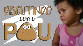 getlinkyoutube.com-Menina discutindo  com o Pou