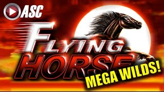 getlinkyoutube.com-*MEGA WILDS* FLYING HORSE | Ainsworth (Sweet Zone) Big Win! Slot Machine Bonus