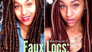 Faux Locs: Marley vs. Yarn