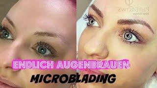 getlinkyoutube.com-Endlich perfekte Augenbrauen   Microblading vorher/nachher [Preis,Schmerzen etc ] Mermaid_xo_