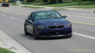 getlinkyoutube.com-BMW M6 V10 Eisenmann Exhaust, Straight Pipes, Decatted. Heart Pounding!!!