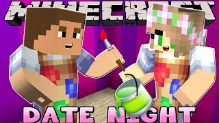 getlinkyoutube.com-Minecraft - DATE NIGHT: MOVING INTO DONNYS CASTLE!