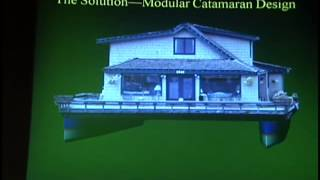getlinkyoutube.com-Eric Sponberg — Modular Catamaran Houseboat, IBEX 2011
