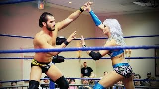 Johnny Gargano and Candice LeRae // A Wrestling Couple