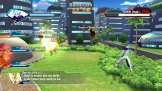 getlinkyoutube.com-Dragonball Xenoverse Gameplay: Saiyan Revolt