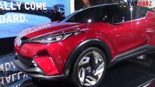 getlinkyoutube.com-2017 Scion C-HR Concept At The 2016 NAIAS Auto Show