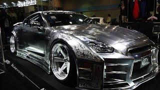 getlinkyoutube.com-(4K)KUHL Racing Nissan GT-R Metal Paint - Osaka Auto Messe 2015 大阪オートメッセ2015