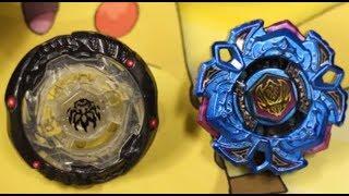 getlinkyoutube.com-BATTLE: Variares D:D Blue Phantom Ver. VS Phantom Orion B:D Skeleton Ver. - Beyblade Metal Fight 4D