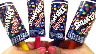 getlinkyoutube.com-Smarties Pop Up Ice Cream Play Doh Surprise Teletubbies Lalaloopsy The Little Mermaid Minions