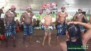 getlinkyoutube.com-Ohafia War Dance Thrills Audience at the 2016 Igbo World Festival of Arts & Culture
