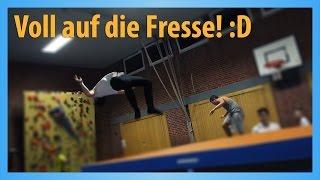 DAS PARKOUR VIDEO // Training + mega FAIL! :D | Jonah Pschl