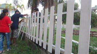 getlinkyoutube.com-ทำรั้วแบบง่าย (2)   my DIY fence(2)