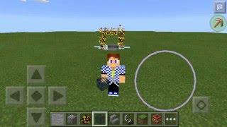 getlinkyoutube.com-Как сделать огненый портал в Minecraft PE 0.13.1 : 0.14.0 БЕЗ МОДОВ