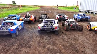 getlinkyoutube.com-RC ADVENTURES - PT 3: 4WD BATTLE for POSiTiON - 1/5 Scale Offroad Racing Event - BiG DiRTY 2016