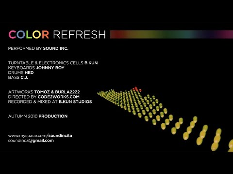 Color Refresh - Sound Inc