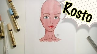 getlinkyoutube.com-TUTORIAL - Como Desenhar Rosto (Face)