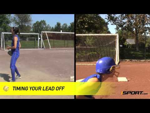Base Running in Softball: How to Take a Lead Off