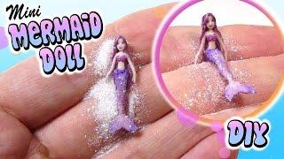 How To (Poseable) Mini Mermaid Doll Tutorial // DIY Miniature Barbie