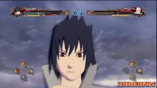 getlinkyoutube.com-Naruto Ultimate Ninja Storm Revolution - Sasuke (Susanoo) Vs Tobi (Rinnegan)