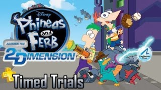 getlinkyoutube.com-Timed Trials: Episode 02 - Phineas and Ferb Across the 2nd Dimension   Too Much Gaming