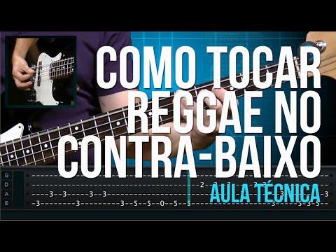 Como Tocar Reggae (aula de t�cnica de contra-baixo)