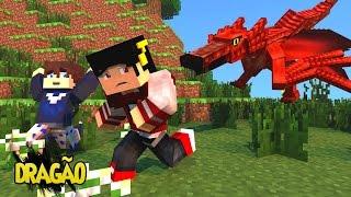 getlinkyoutube.com-Minecraft: HARDCORE #7 - DRAGÃO VERMELHO SURGE ‹ AM3NIC ›