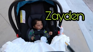 Reborn Baby Goes Shopping At Petco & Target! Outing With My Fake Life Like Doll! Toy Doll