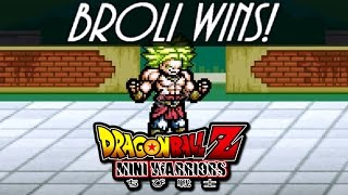 Dragon Ball Z Mini Warriors 1.1: UNLOCKING BROLY! FINALLY!