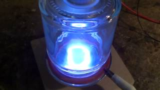 getlinkyoutube.com-Demonstration of magnetron plasma