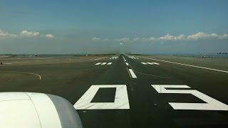 getlinkyoutube.com-Tokyo Haneda Airport Runway 05 Take-off / 快晴の羽田空港 D滑走路離陸 (ANA 787-8)