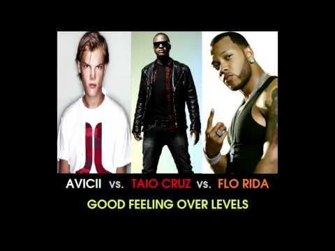 Avicii vs. Taio Cruz vs. Flo Rida - Good Feeling Over Levels (Stelmix 4' Mashup Radio Edit)
