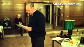 Členenie, servírovanie a kultúra podávania vína s praktickou ukážkou