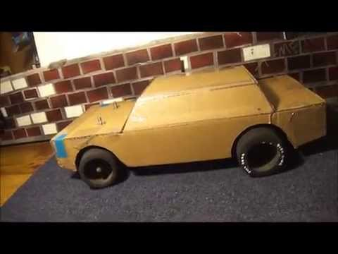 Rat Rod RC Project Part 2 (Homemade Cardboard Body)