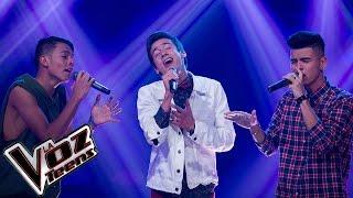DQ, Jesús y Bryan cantan 'A puro dolor' | Batallas | La Voz Teens Colombia 2016
