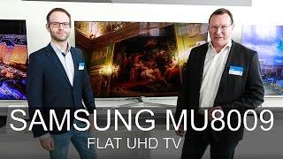 Samsung UE55MU8009 - Messe 2017 - Thomas Electronic Online Shop - UE65MU8009 - MU8009