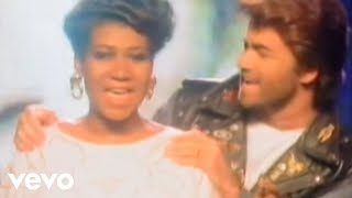 George Michael, Aretha Franklin - I Knew You Were Waiting (For Me) (Official Video) width=
