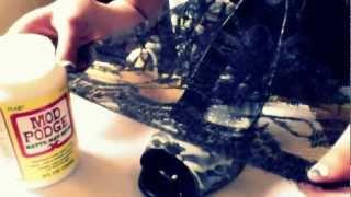 getlinkyoutube.com-DIY: Valentino Inspired Lace Shoe Tutorial