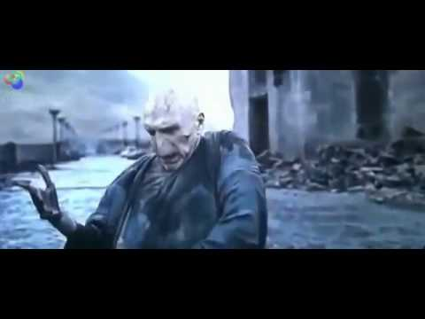 Harry Potter Vs Lord Voldemort - Death Scene / Harry Potter and The Deathly Hallows Part 2