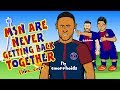 NEYMAR SIGNS FOR PSG!😢MSN are never getting back together...😢